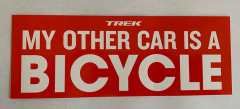 My Other Car Sticker