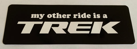 My Other Ride Sticker