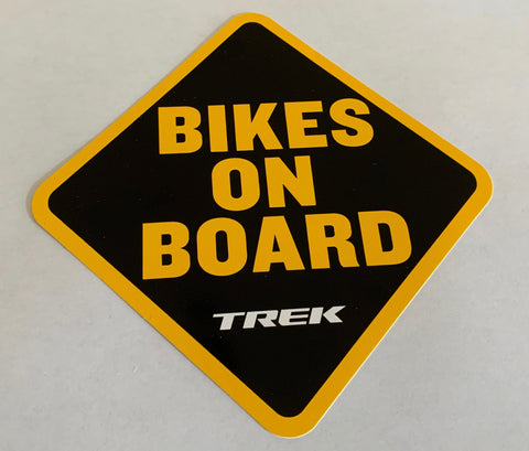 Bikes On Board Sticker