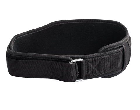 Dbl Neoprene Lift Belt Black