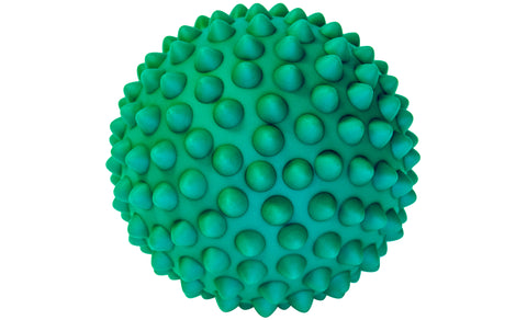 Spikey Xtra Firm 9cm Green