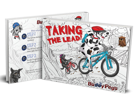 Buddy Pegs: Taking The Lead! Children's Book