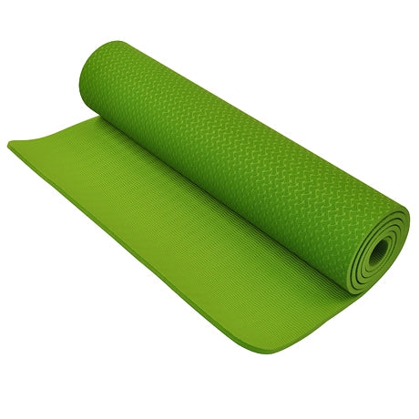 TPE Yoga Matt 8mm Green