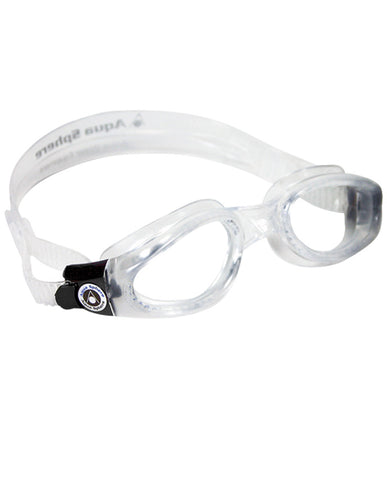 Kaiman Small Fit Goggle Clear Lens Black