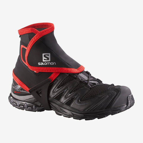 Salomon Trail Gaiters High LB Black