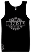 100% RN4L MEMBER BLACK TANK TOP (LIMITED EDITION) RAIDER NATION EDITION
