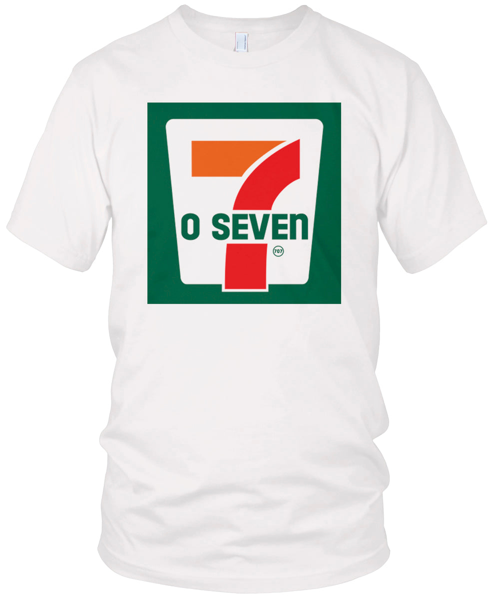 707 WHITE T-SHIRT (LIMITED EDITION) 7 O SEVEN
