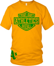 A'S GOLD & GREEN T-SHIRT (LIMITED EDITION) OAKLAND ATHLETICS EDITION