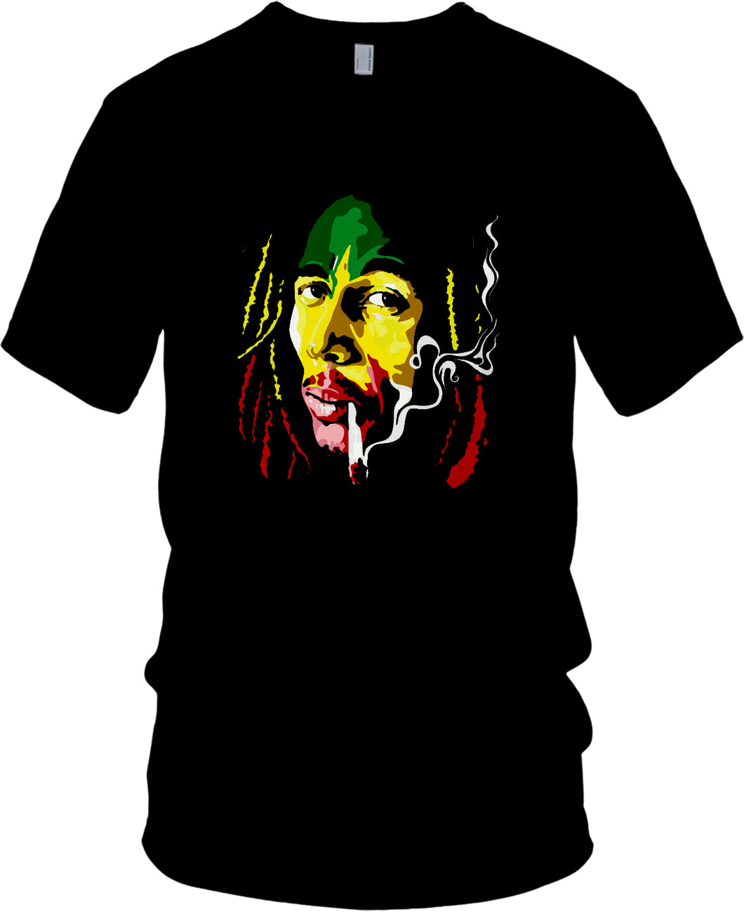 MILLIONAIRE MENTALITY BOB MARLEY BLACK T-SHIRT (LIMITED EDITION)