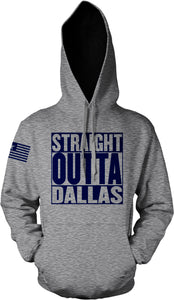 STRAIGHT OUTTA DALLAS GREY HOODIE (LIMITED EDITION) COWBOYS