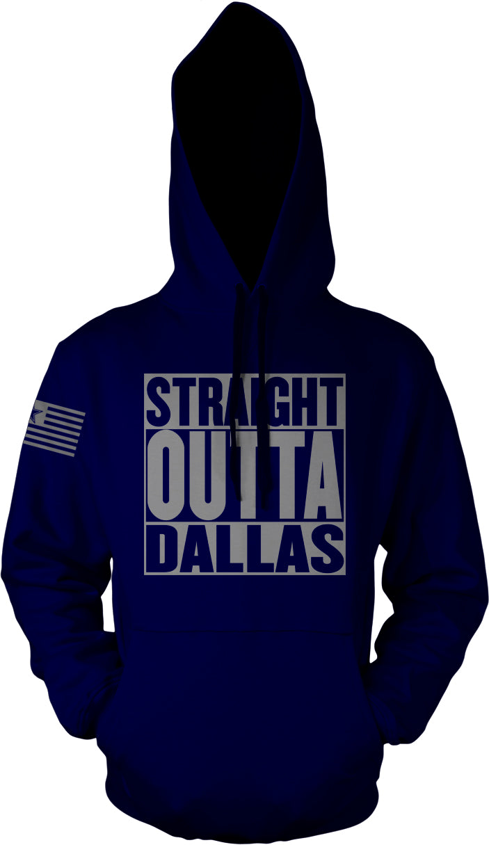 STRAIGHT OUTTA DALLAS NAVY HOODIE (LIMITED EDITION) COWBOYS