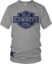 DALLAS COWBOYS GREY T-SHIRT (LIMITED EDITION)