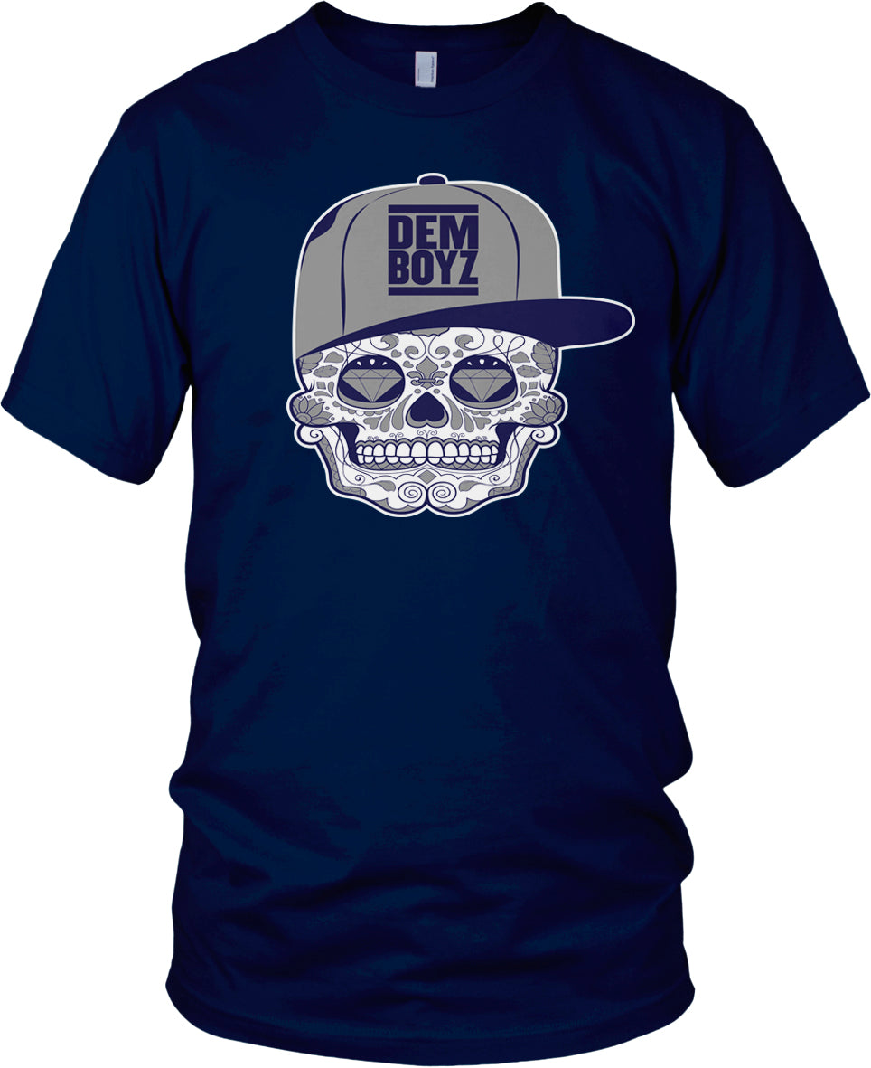 DALLAS COWBOYS DEM BOYZ NAVY T-SHIRT (LIMITED EDITION)