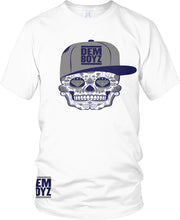 DALLAS COWBOYS DEM BOYZ CANDY SKULL WHITE T-SHIRT (LIMITED EDITION)