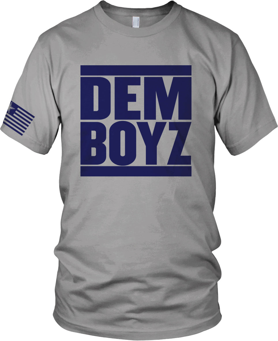 60ad666e4ef DALLAS COWBOYS DEM BOYZ GREY T-SHIRT (LIMITED EDITION) – Millionaire ...