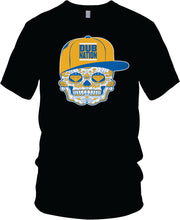 DUB NATION CANDY SKULL BLACK T-SHIRT (LIMITED EDITION) GOLDEN STATE WARRIORS EDITION
