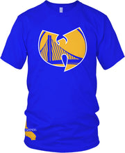 DUB NATION WU TANG BLUE T-SHIRT (LIMITED EDITION) GOLDEN STATE WARRIORS EDITION