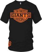 GIANTS BLACK & ORANGE T-SHIRT (LIMITED EDITION) SAN FRANCISCO EDITION