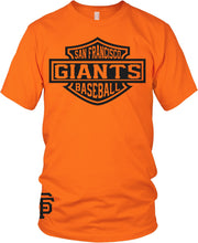 GIANTS ORANGE & BLACK T-SHIRT (LIMITED EDITION) SAN FRANCISCO EDITION