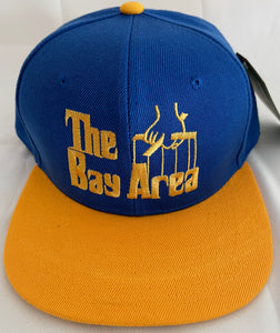 THE BAY AREA GODFATHER BLUE & GOLD SNAPBACK BASEBALL HAT