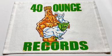 40 OUNCE RECORDS TOWEL