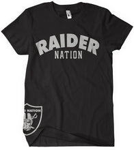 KIDS RAIDER NATION BLACK T-SHIRT (LIMITED EDITION) OAKLAND RAIDERS EDITION