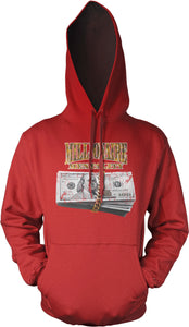 MILLIONAIRE MENTALITY GOLD WRAP RED HOODIE (LIMITED EDITION)