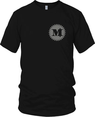 MILLIONAIRE MENTALITY M MONEY LOGO BLACK T-SHIRT (LIMITED EDITION)