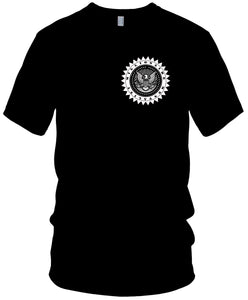 MILLIONAIRE MENTALITY MONEY EAGLE BLACK T-SHIRT (LIMITED EDITION)