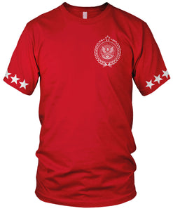 MILLIONAIRE MENTALITY EAGLE RED T-SHIRT (LIMITED EDITION)
