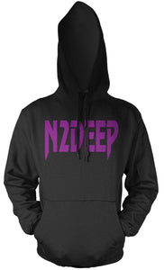 N2DEEP SIPPIN' PURPLE CHONGOS BLACK HOODIE (NEW) TL EDITION