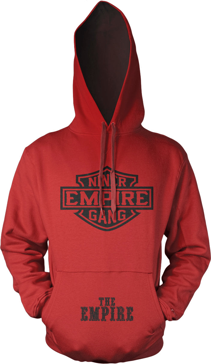 NINER EMPIRE GANG RED & BLACK HOODIE (LIMITED EDITION) SAN FRANCISCO 49ERS EDITION