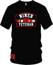 NINER EMPIRE CANDY VETERAN BLACK T-SHIRT (LIMITED EDITION) SAN FRANCISCO 49ERS EDITION