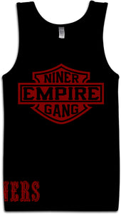 NINER EMPIRE GANG BLACK TANK TOP (LIMITED EDITION) SAN FRANCISCO EDITION