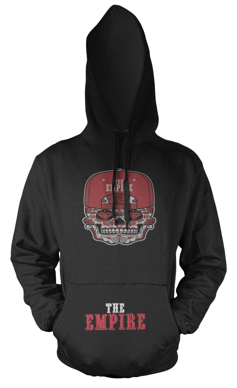 THE EMPIRE BLACK & RED HOODIE (LIMITED EDITION) SAN FRANCISCO 49ERS EDITION