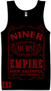 NINER EMPIRE BLACK TANK TOP (LIMITED EDITION) SAN FRANCISCO EDITION