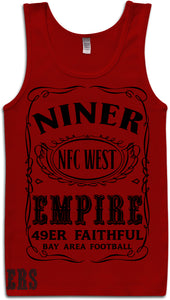 NINER EMPIRE RED TANK TOP (LIMITED EDITION) SAN FRANCISCO EDITION