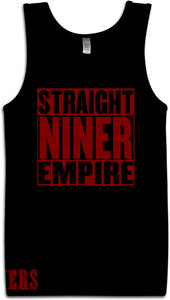 STRAIGHT NINER EMPIRE BLACK TANK TOP (LIMITED EDITION) SAN FRANCISCO EDITION