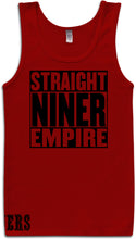 STRAIGHT NINER EMPIRE RED TANK TOP (LIMITED EDITION) SAN FRANCISCO EDITION