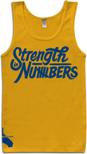 STRENGTH IN NUMBERS GOLD TANK-TOP (LIMITED EDITION) GOLDEN STATE WARRIORS EDITION