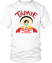 TAPATE LA PINCE BOCA WHITE T-SHIRT (LIMITED EDITION) CORONA VIRUS EDITION