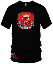 THE EMPIRE CANDY SKULL T-SHIRT (LIMITED EDITION) SAN FRANCISCO 49ERS EDITION
