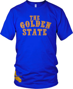 THE GOLDEN STATE BLUE T-SHIRT (LIMITED EDITION) DUB NATION EDITION