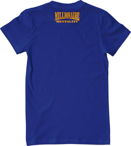 VALLEJO 707 LICENSE PLATE BLUE T-SHIRT (LIMITED EDITION)