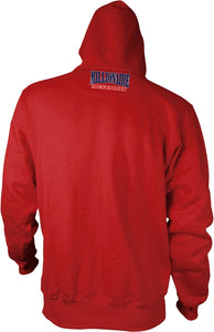DOPEST RED, BLUE & WHITE HOODIE (NEW)