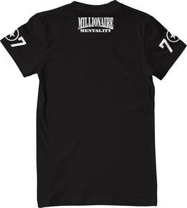 VALLEJO 707 BAY AREA CONVERSE  BLACK T-SHIRT (LIMITED EDITION)