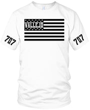 VALLEJO 707 FLAG WHITE T-SHIRT (LIMITED EDITION)