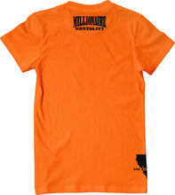 VALLEJO 707 BAY AREA CALIFORNIA ORANGE & BLACK T-SHIRT (LIMITED EDITION)