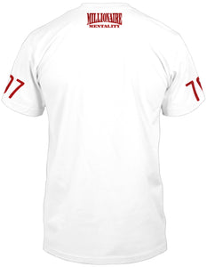 VALLEJO 707 LICENSE PLATE WHITE T-SHIRT (LIMITED EDITION)