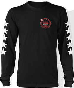 MILLIONAIRE MENTALITY LONG SLEEVE BLACK T-SHIRT (LIMITED EDITION)